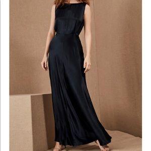 BHLDN | Alexia Midnight Blue Button Back Gown
